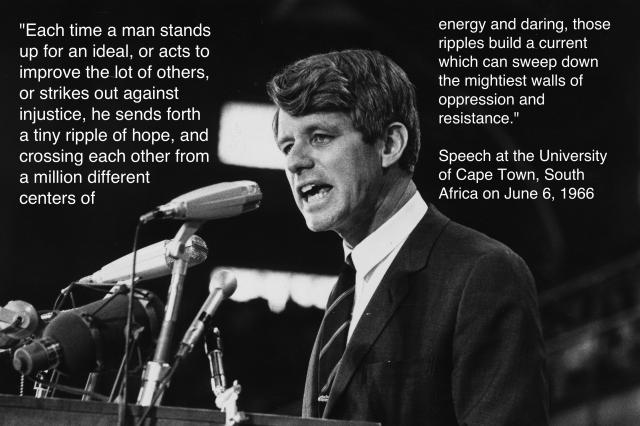 Robert Kennedy Day of Affirmation Speech photo
